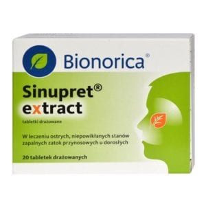 sinupret extract opinia